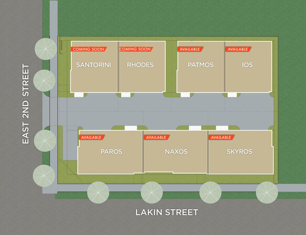 Lakin Villas Site Plan