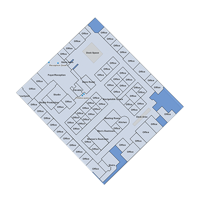 Floor plans as commercial data models - AVF as example