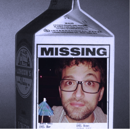 (Have you seen this man?)