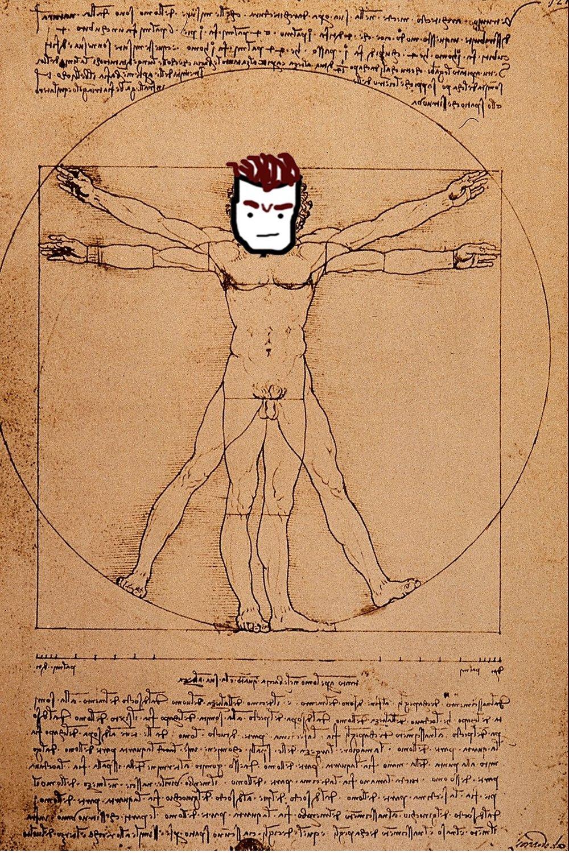"""(Leonardo DaVinci's """"Luke"""")"""