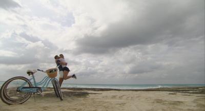 Nick Danielle beach bikes