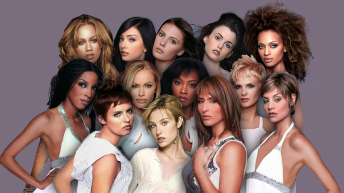 (This was Cycle 5, before they could afford a Photoshop professional. Tyra did this herself!)