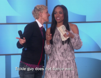 (I would give one of my kidneys for Ellen to be the host from now on)