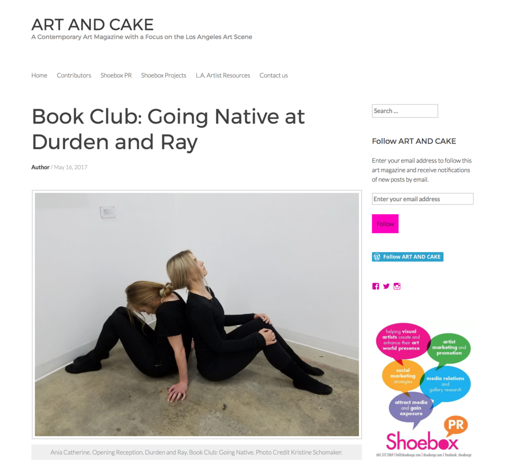 Check out our review in Art and Cake!