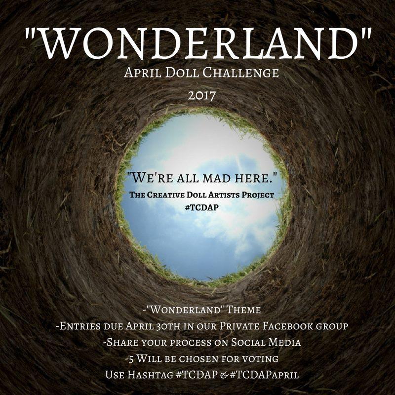 tcdapapril cwonderland challenge