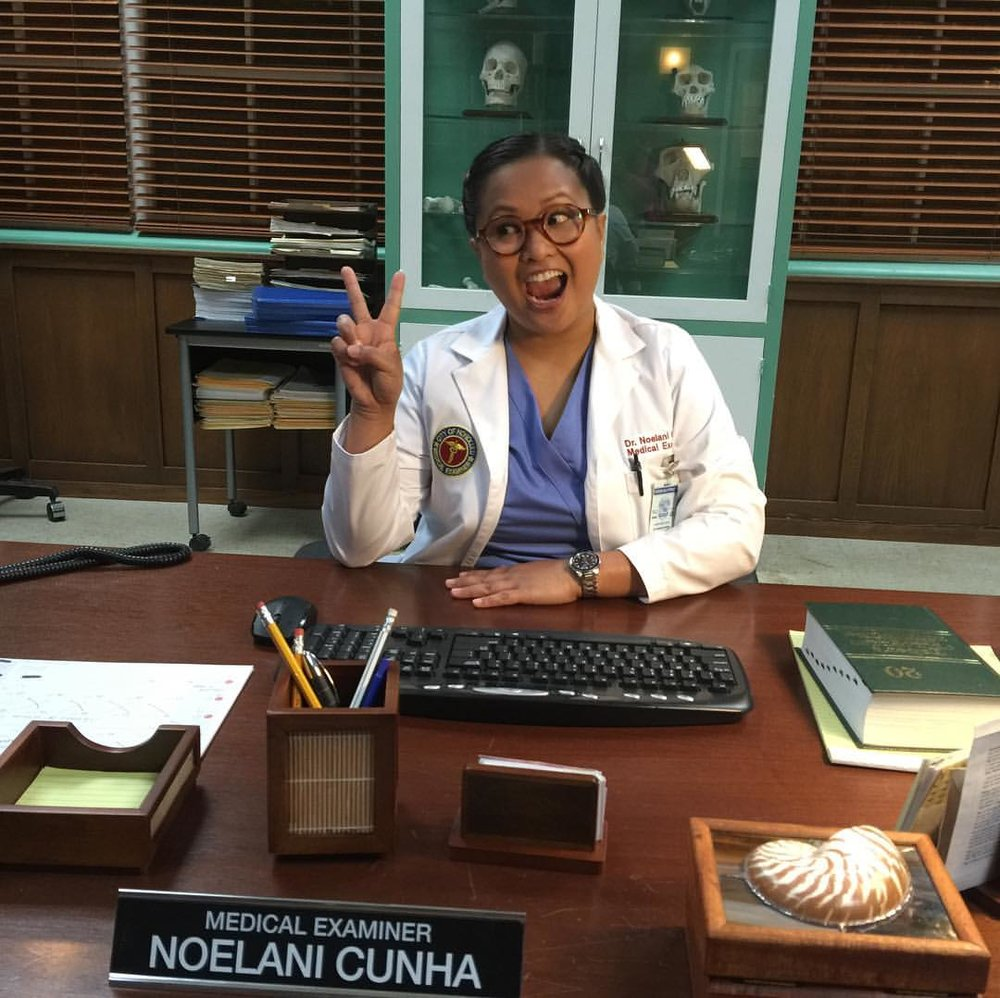"Kimee Balmilero as Dr. Noelani Cunha, ""Hawaii Five-0"""