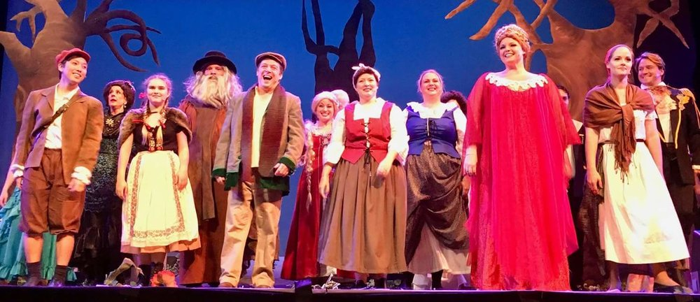 The cast of Chaminade University Performing Arts' Into the Woods. Photo courtesy of Alan Shepard.