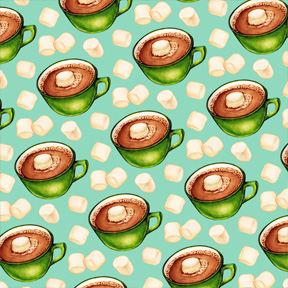 Hot Chocolate - Teal