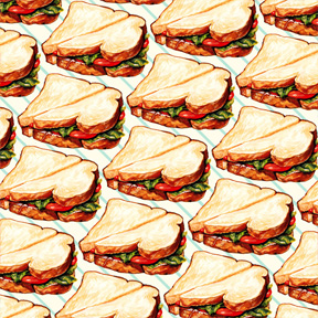Lunchroom Sandwich
