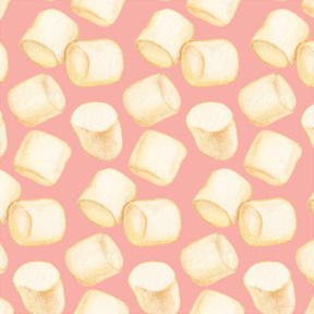 Marshmallows - Pink