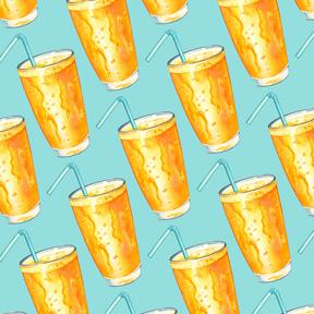 Orange Juice - Blue