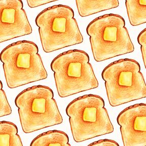 Toast - White