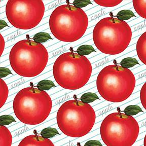 Apple - Ruled