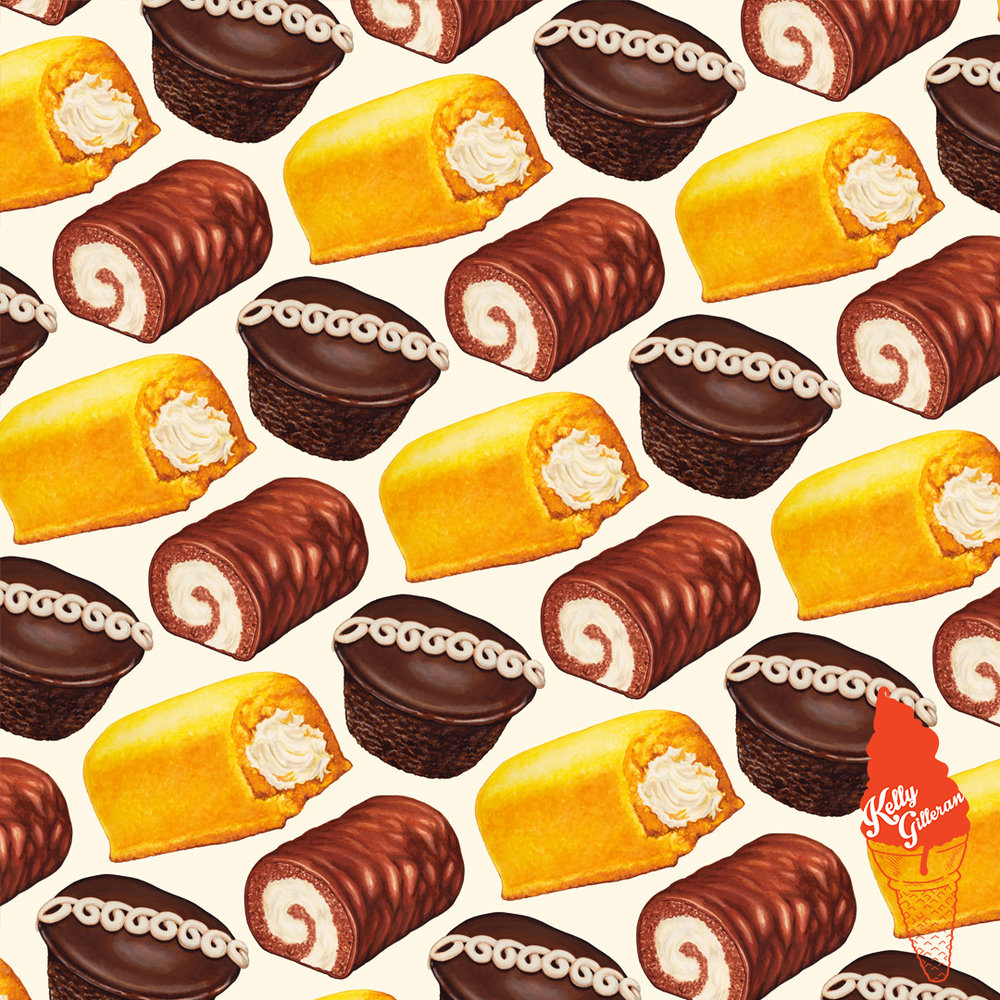 """Hostess Cakes Pattern"" 2016."