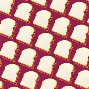 Peanut Butter & Jelly Sandwich - Purple