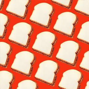 Peanut Butter & Jelly Sandwich - Red