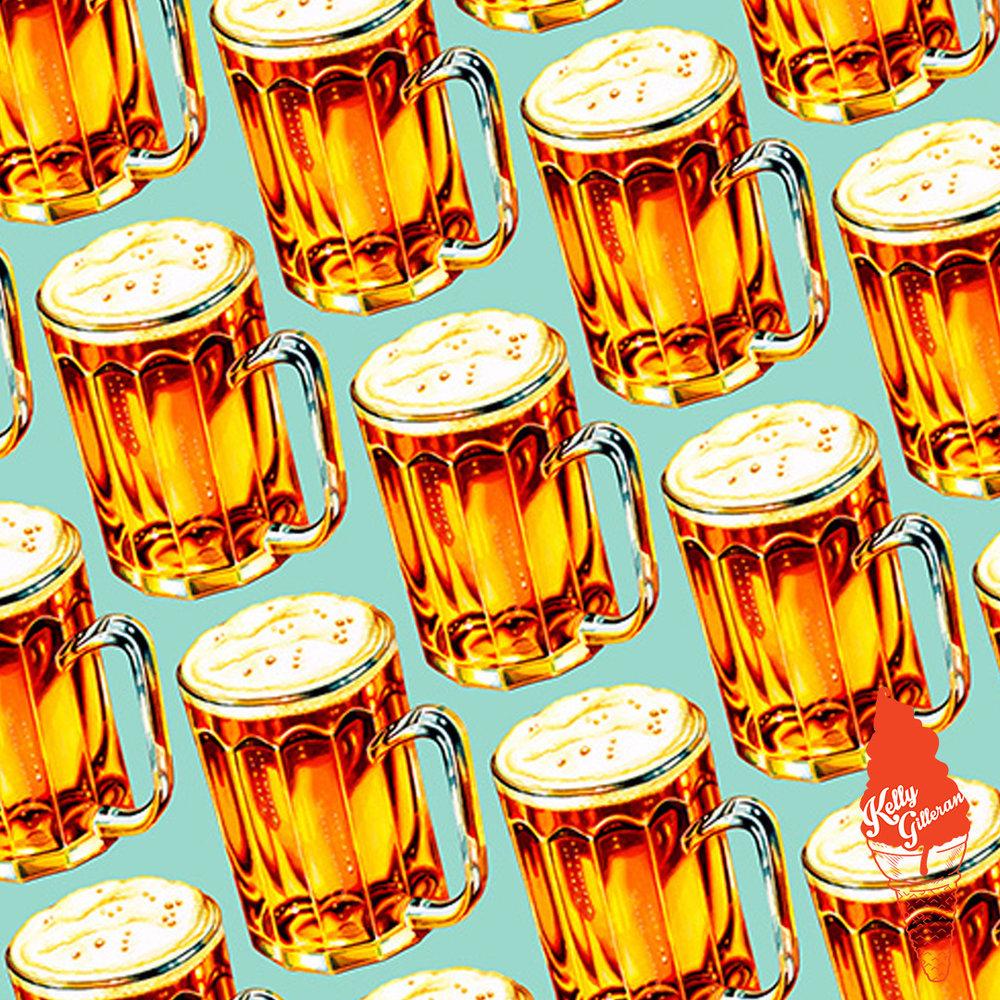 """""""Beer Pattern II"""" 2016."""