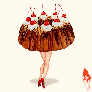 """Hot Cakes: Bundt II"" 2017."