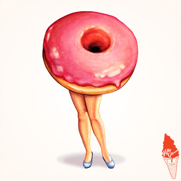 """Donut Pin-Up"" 2016."