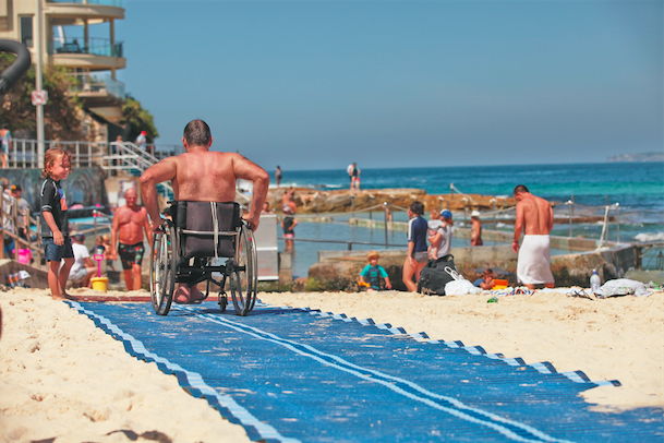 Bondi-Beach-NSW-Wheelchair