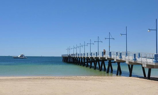 ROCKINGHAM BEACH  Perth Beaches -   Features  Accessible Beach Matting  Beach trekker wheelchairs