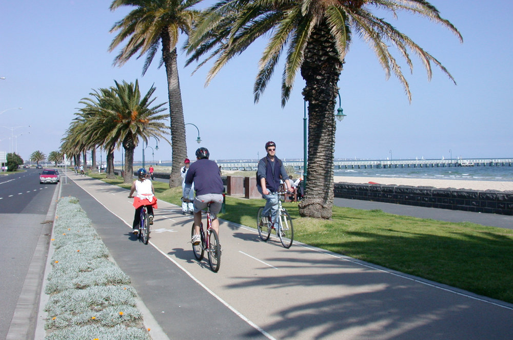 PORT MELBOURNE  5 mins south of Melbourne CBD -   Features  Accessible Beach Matting Mobi-Chair Beach Wheelchair