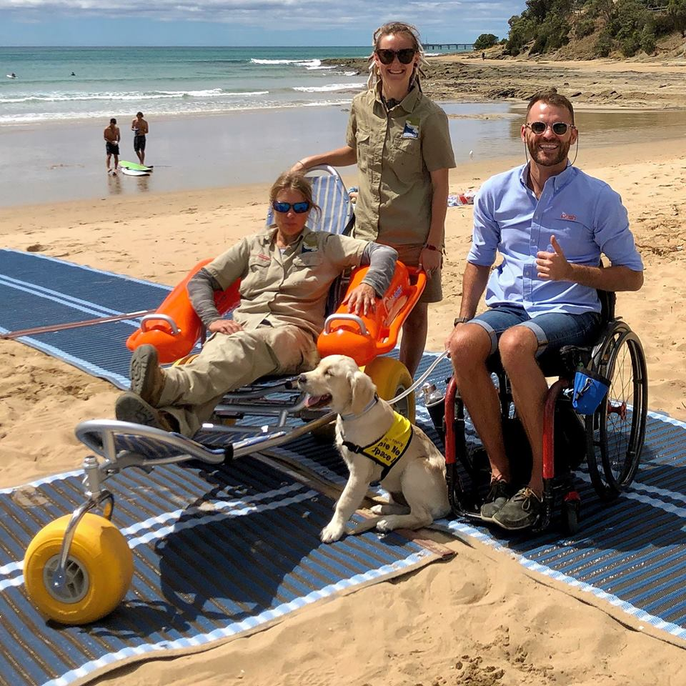 LORNE BEACH   2 hours drive from Melbourne CBD -   Features  Accessible Mat Accessible Hoist Accessible Change Room Accessible Parking