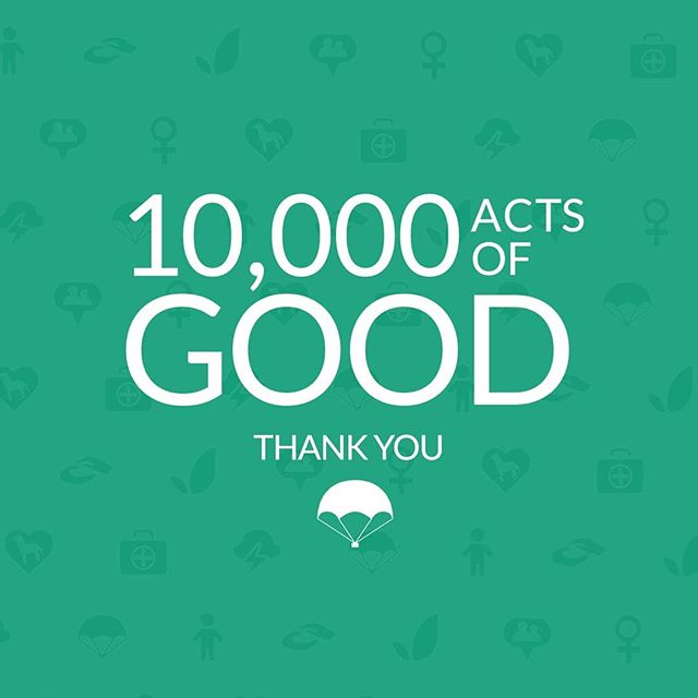 Our champions are incredible!  All of their hard work means we've hit a major milestone - together, we have reached 10,000 acts of good!!! #causecorps . . . #microvolunteering #champions #causecorpschampions #charity #notforprofit #philanthropy #dogood #socialgood #socialchange #volunteer #causes #activism #impact #givingback #love #grateful #thankyou #justgiving #dosomething #changemakers #change #actsofgood #sydneyvolunteers #melbournevolunteers #aucklandvolunteers #londonvolunteers #hkvolunteers #sgvolunteers