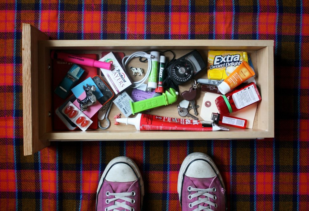 photo credit: The Kitchn - 5 things that don't belong in the kitchen junk drawer