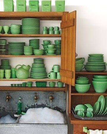 Greenery Crockery