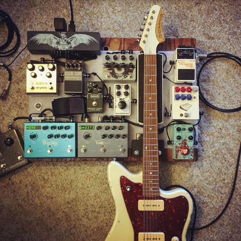Fano Guitar Pedal Board