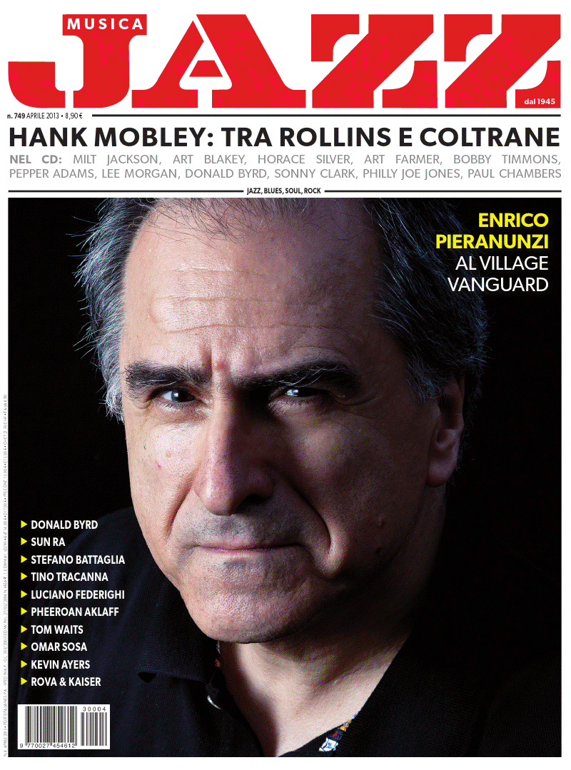 Enrico Pieranunzi - Cover Jazz April 2012