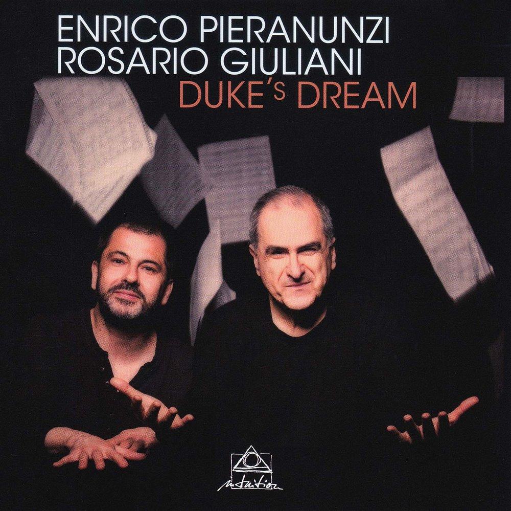 DUKE'S DREAM - PIERANUNZI GIULIANI CD COVER