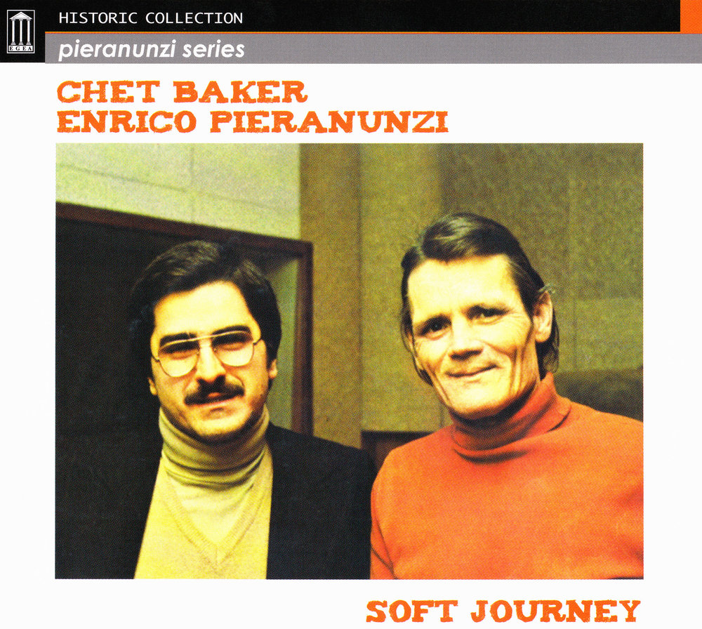 Soft Journey cd cover Pieranunzi Baker