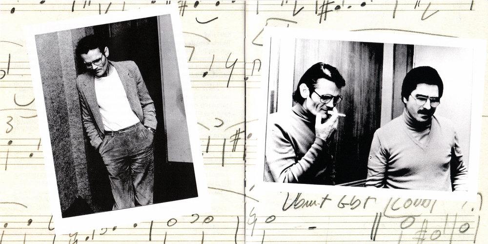Chet Baker&Enrico Pieranunzi Roma, Gennaio 1980 Photo by Massimo Perelli