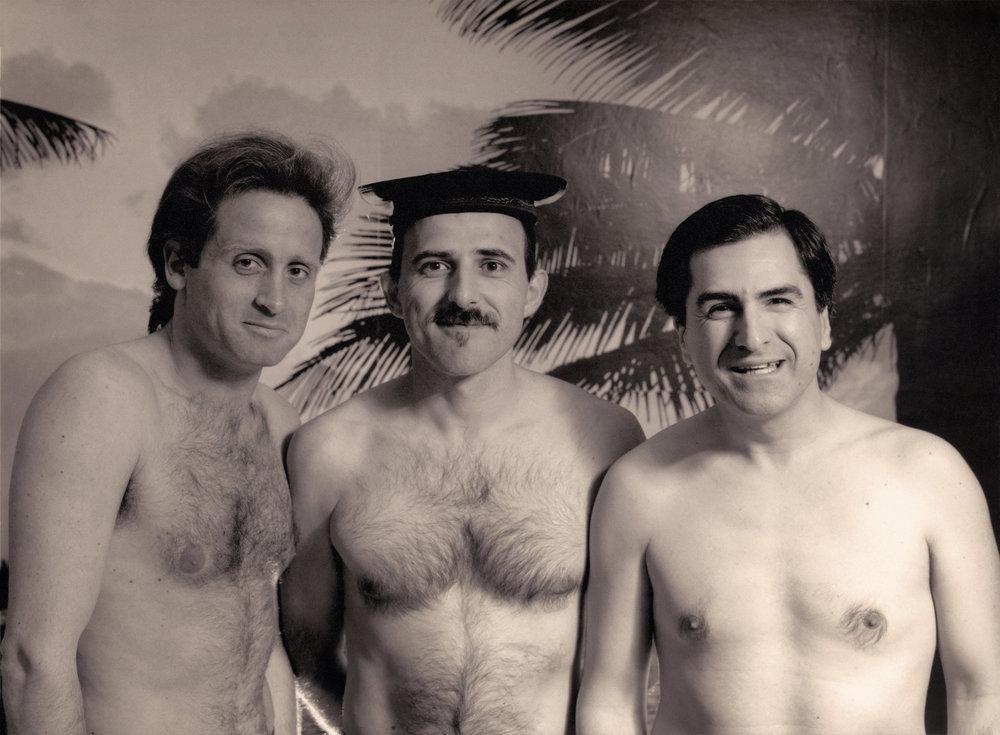 Fabrizio Sferra, Enzo Pietropaoli & Enrico Pieranunzi Roma 1990 Photo by Claudio Corrivetti