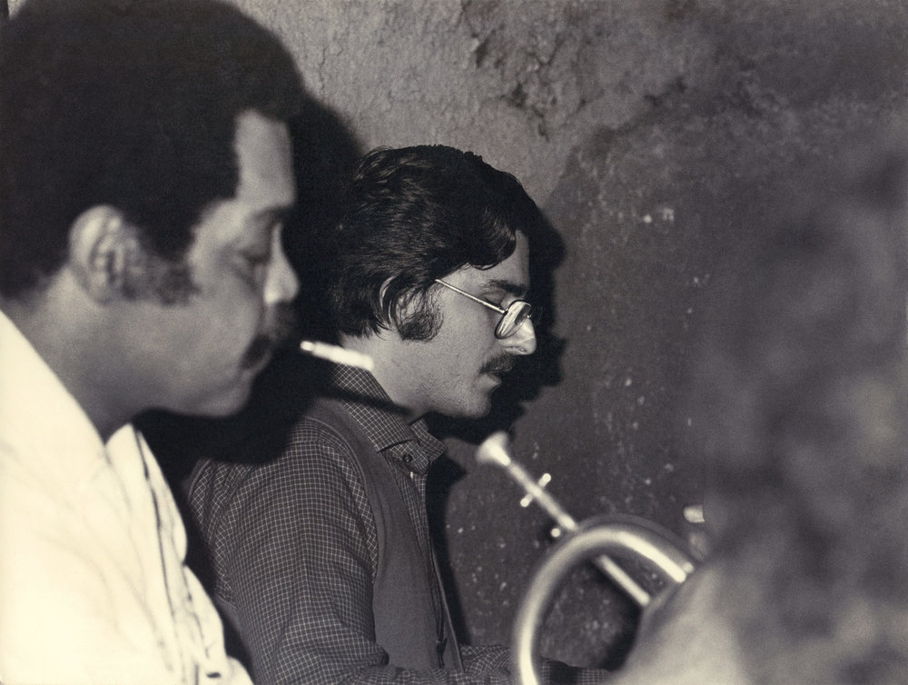 Enrico Pieranunzi  &  Art Farmer   Music Inn , Roma, May 1975