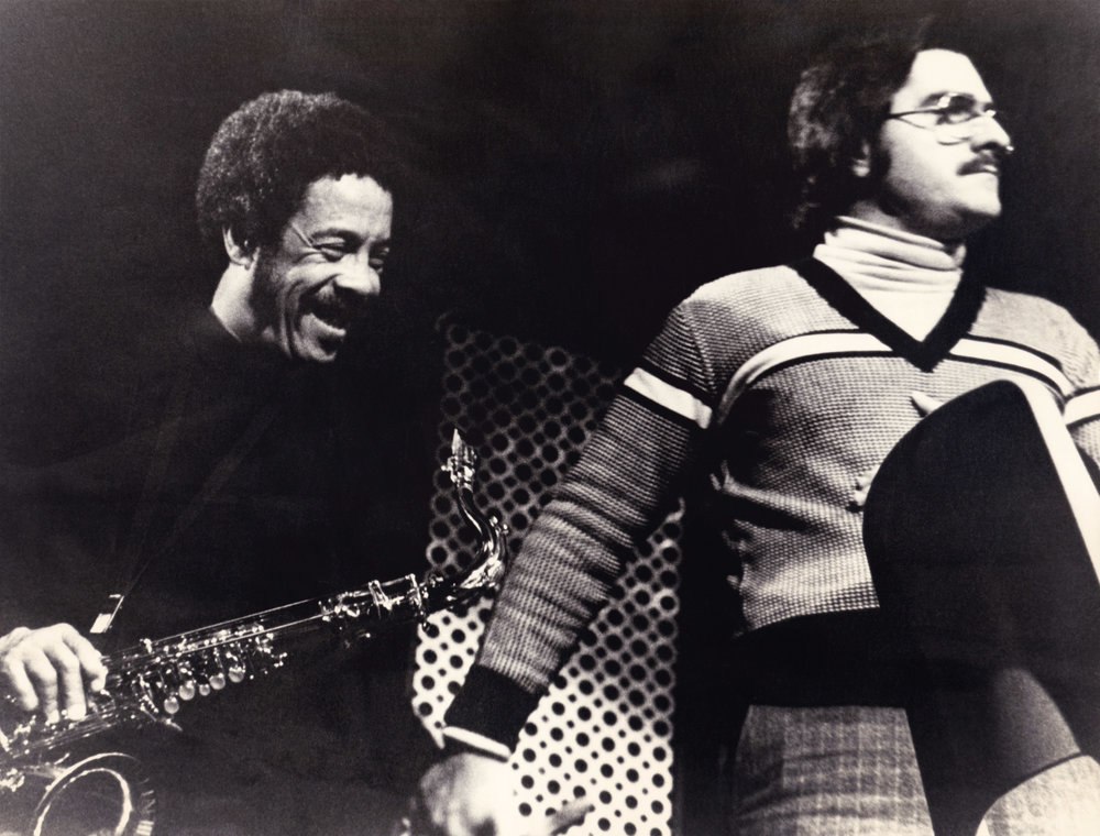 Enrico Pieranunzi  &  Johnny Griffin  Roma 1978
