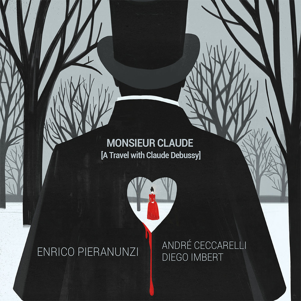 MONSIEUR CLAUDE CD COVER - ENRICO PIERANUNZI