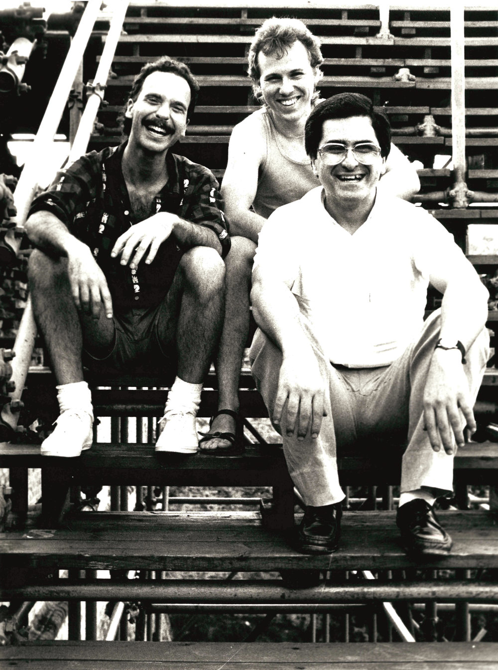 Enrico Pieranunzi, Joey Baron  &  Marc Johnson  Ravenna 1984