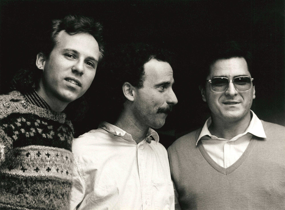 Marc Johnson, Joey Baron  &  Enrico Pieranunzi  Bergamo 1986