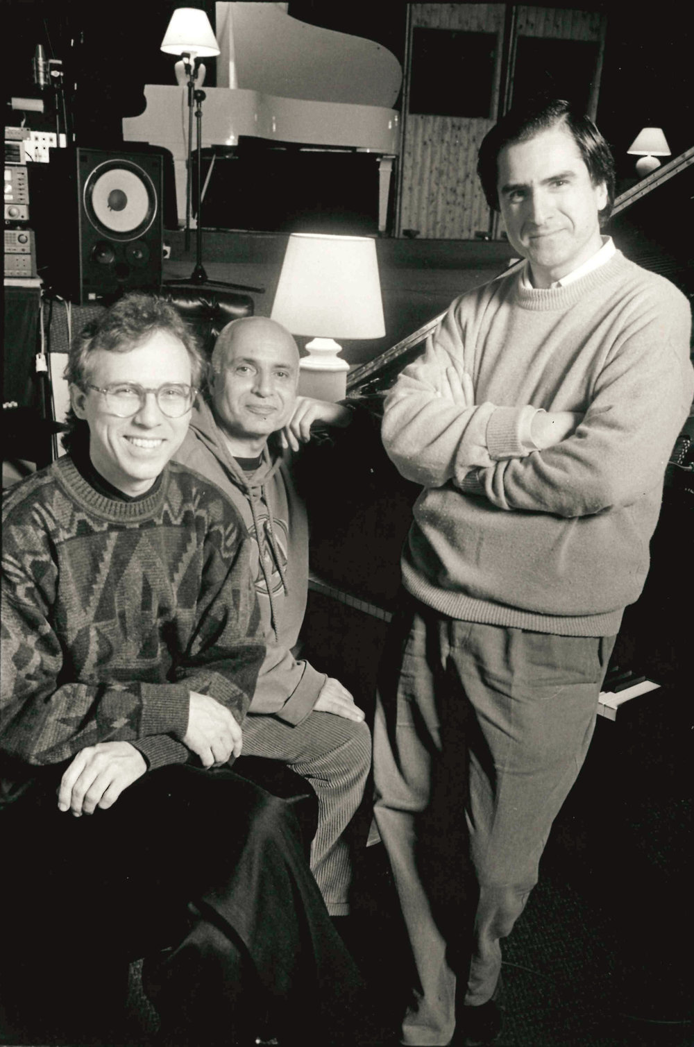 Marc Johnson, Paul Motian  &  Enrico Pieranunzi  Parigi 1990