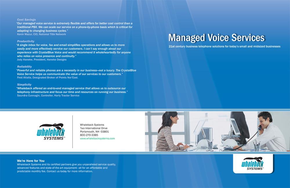 Brochure   Whaleback Systems