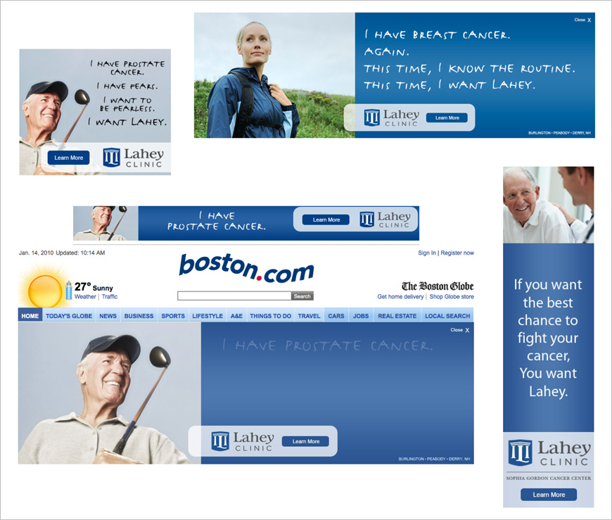 Banner Campaign | Lahey Clinic