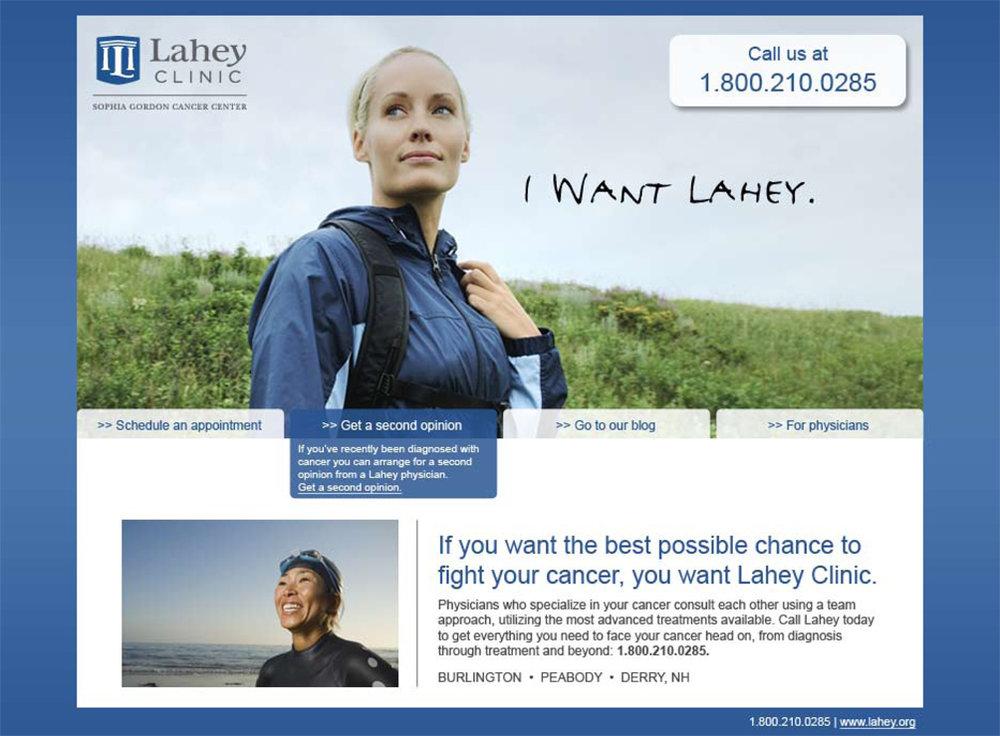 Microsite | Lahey Clinic