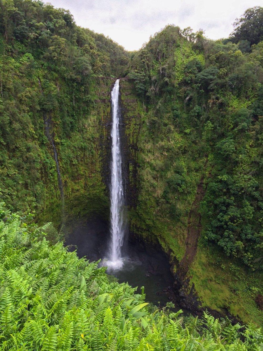 The magnificent akaka falls