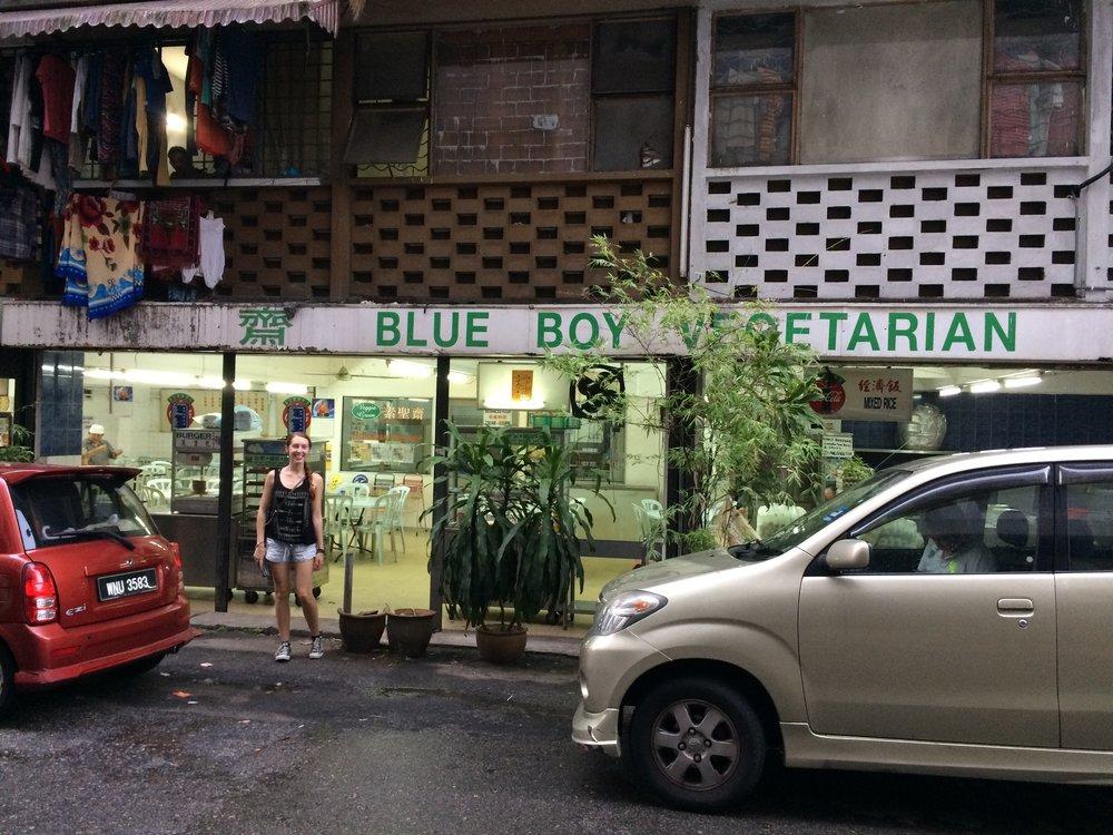 Vegetarian street food in Kuala Lumpur, Malaysia