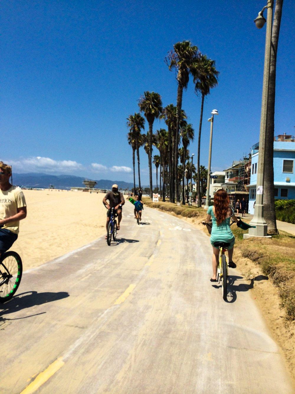 Venice Beach Bike Path