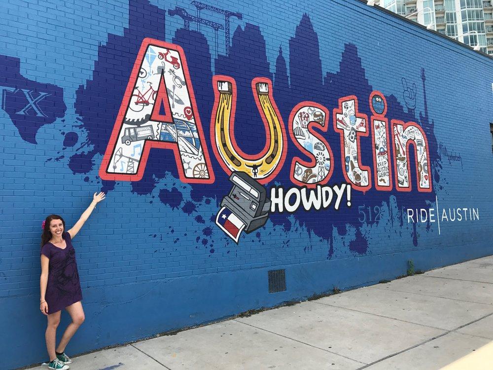 Downtown Austin Street Art