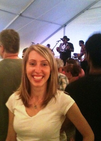 circa 2011: me realizing ohio is cool?! listening to zydeco music at the cityfolk festival